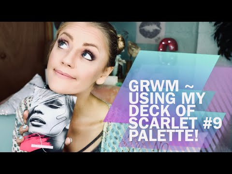GRWM ~ Using my Deck of Scarlet #9 Palette! Getting Ready For Dollywood!