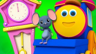 Hickory Dickory Dock | Nursery Rhymes | Children Songs | Baby Rhymes | Bob The Train