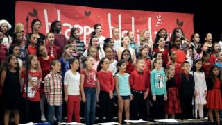 DBES holiday chorus and orff show