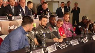 GO ON PAPI RHINO! - DAVE ALLEN & LENROY THOMAS GO AT IT WITH THE VERBALS IN PRESS CONFERENCE!