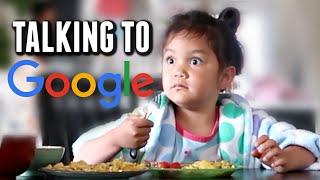 Miya Talks to Google Home - itsjudyslife