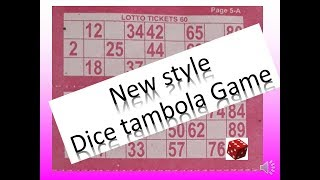 2018 Incredible Tambola or Housie Game with Dice // Casino Theme Kitty Party game