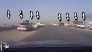 طريق الموت في الرياض حاصد الارواح الى متى ..!! طريق النظيم