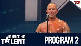 Andy stripper - Danmark har talent - Program 2