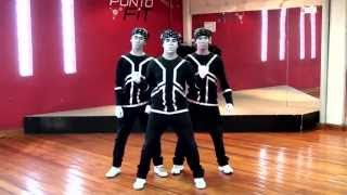 Poppin Jhon - Choreography Robots Boys (Tribute) - ZonDer - Dance is convey