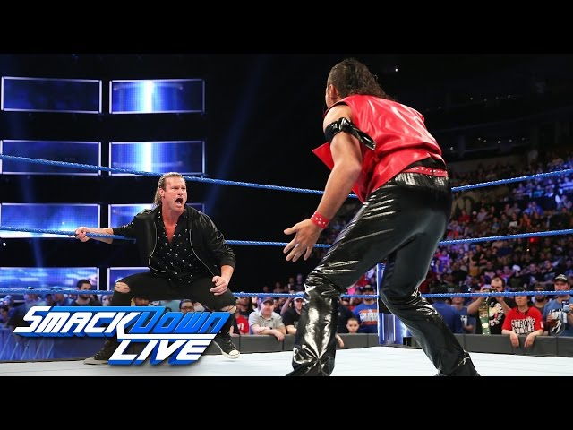 Shinsuke Nakamura takes out Dolph Ziggler: SmackDown LIVE, April 11, 2017