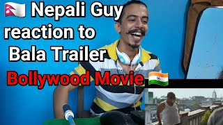 Bala- Official Trailer reaction | Ayushman Khurrana, Bhumi | Nepali | foreigners react to bollywood