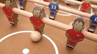 Kartoni Foosball Table Assembly