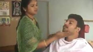 aunty ki, shaving