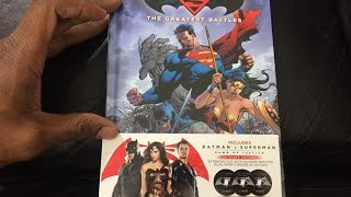 BLU-RAY UNBOXING - Batman v Superman: Dawn of Justice [Blu-ray] [Graphic Novel] [Ultimate] 2016