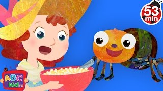 Little Miss Muffet | + More Nursery Rhymes & Kids Songs - ABCkidTV