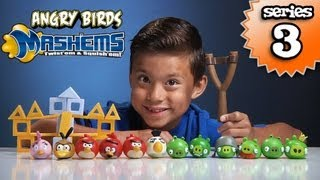 Angry Birds MASH'EMS Series 3 - Orange Bird Mash'Em & Pink Bird Mash'Em