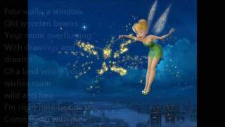 Tinkerbell Come Flying With Me (Lyric Video)