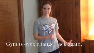 Changing in a Locker Room - The High School Way!