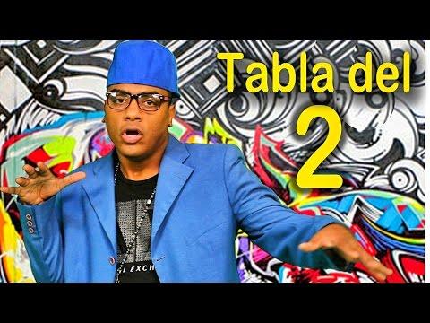Canción de la tabla del 2 Las Tablas de Multiplicar al Estilo Urbano Videos Educativos