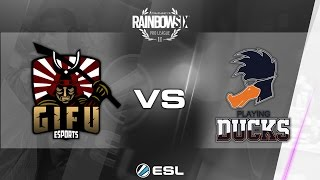 Rainbow Six Pro League - Season 1 - PC - EU - GiFu eSports vs Playing Ducks