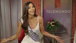 Lo que No Sabias de Paulina Vega Miss Colombia 2014-2015 / Telemundo