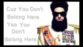 The Dictator   Aladeen MotherFucker English Lyrics