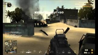 EQUIP: M27 IAR+ M249 SAW+ Deagle 50 (Battlefield Play4Free Commentary)