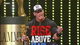 John Cena Wins Game Changer of the Year 2011