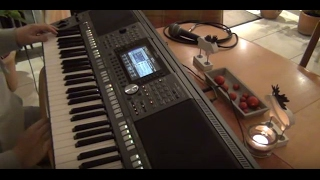 Keyboard pour adeline  PSR S970 Tyros Style version