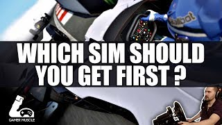 WHICH RACING SIM SHOULD YOU GET FIRST ?