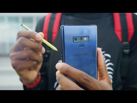 Samsung Galaxy Note 9 Review The Total Package