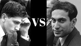 Amazing Chess Game : Bobby Fischer vs Mikhail Tal - 1959 - Sicilian Defence - Najdorf  (B90)