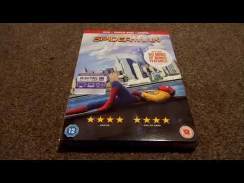 Xxx Mp4 Spider Man Homecoming UK DVD Unboxing 3gp Sex