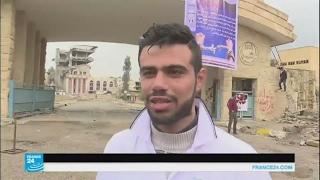"""كيف تبدو جامعة الموصل بعد المعارك ضد تنظيم """"الدولة الإسلامية""""؟"""