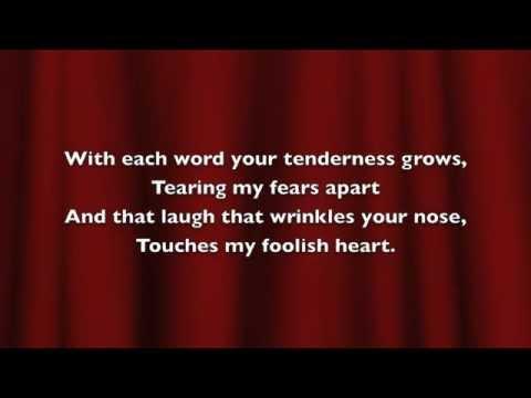 The Way You Look Tonight Buble lyrics