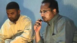 Rizwab Abbas Bhai Doing Nizamat At Ali Muzaffar's Home 9 Rajab 2011