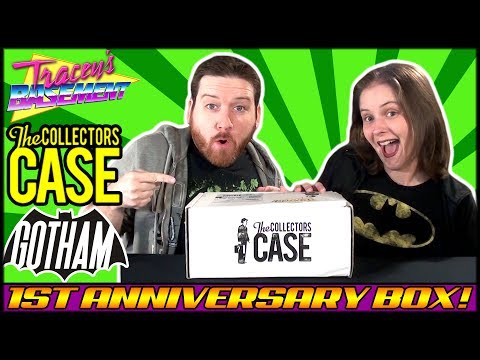 The Collectors Case May 2017 Gotham Theme 1st Anniversary Box Unboxing!