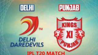 LIVE VIVO IPL 2017 DD Vs KXIP
