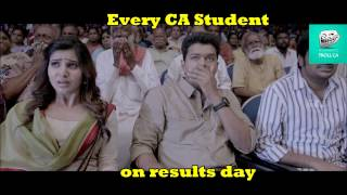 Every CA Student on results day - Troll CA Commerce Cafe