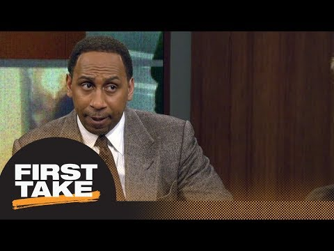Stephen A. Smith would trade Lonzo Ball for Kawhi Leonard First Take ESPN