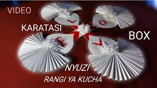 Diy!!! paper diy!!!PAMBO LA KUBUNI KWA KARATASI/JINSI YA KUPAMBA KWA KARATASI!!!