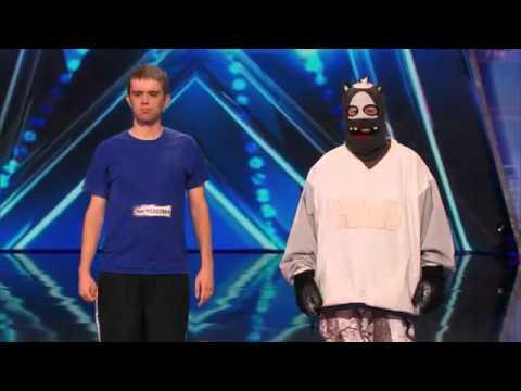 America's Got Talent Audition - Dustin's Dojo  Howard Stern Uses Golden Buzzer on Karate Kid