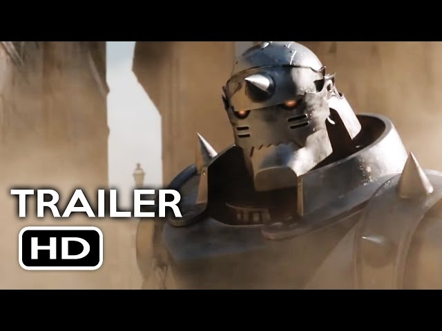 Fullmetal Alchemist Live-Action Official Trailer #2 (2017) Action Movie HD