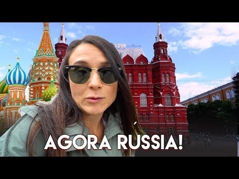 PRIMEIRO DIA EM MOSCOU NA RÚSSIA VIAGEM Travel and Share