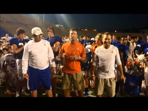 San Angelo Central Football ALS Ice Bucket Challenge