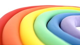 Learn Colors of the Rainbow with Play Doh for Kids RainbowLearning