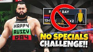 WWE 2K18 - NO SPECIALS CHALLENGE!! ❌ (WWE 2K18 Challenges)