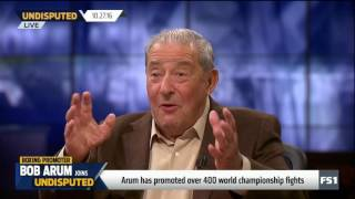 Bob Arum roasts Stephen A  Smith, talks Muhammad Ali vs  USA government