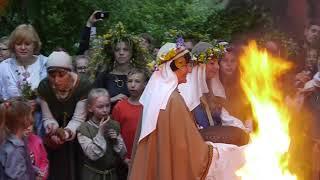 Rasos šventė Verkių parke.