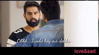 Tumhe Koi aur dekhe to jalta hai dil    Whatsapp status video  Sanjit sharma   #Stupid_Girl