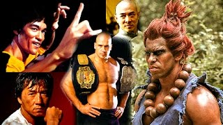 World's Top 5 FIGHTERS! ☯ YOU CHOOSE THE BEST MARTIAL ARTS MASTERS | Bruce Lee, Jet Li, Jackie Chan?