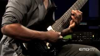 Tosin Abasi of Animals As Leaders performs,