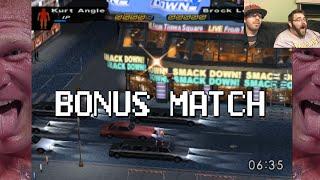 Bonus Match: Brock Lesnar vs Kurt Angle (Here Comes the Pain)