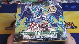 Yu-Gi-Oh! Code of the Duelist Special Edition Unboxing - Mistar Boy & Solemn Strike Reprint is Here!